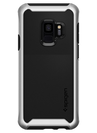Spigen Spigen Galaxy S9 Kılıf, Spigen Neo Hybrid Urban Gümüş